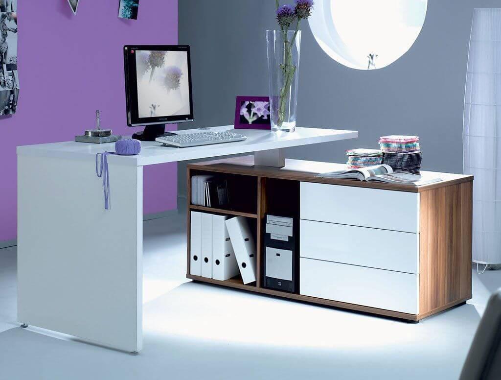 современный компьютерный стол для офиса