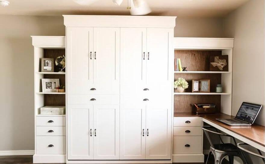 шкаф-кровать в собранном виде